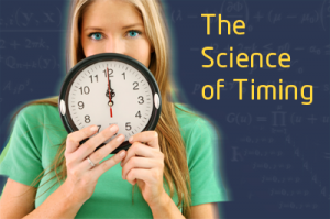 The science of timing- Social Media