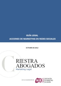 guia legal acciones de marketing en redes sociales